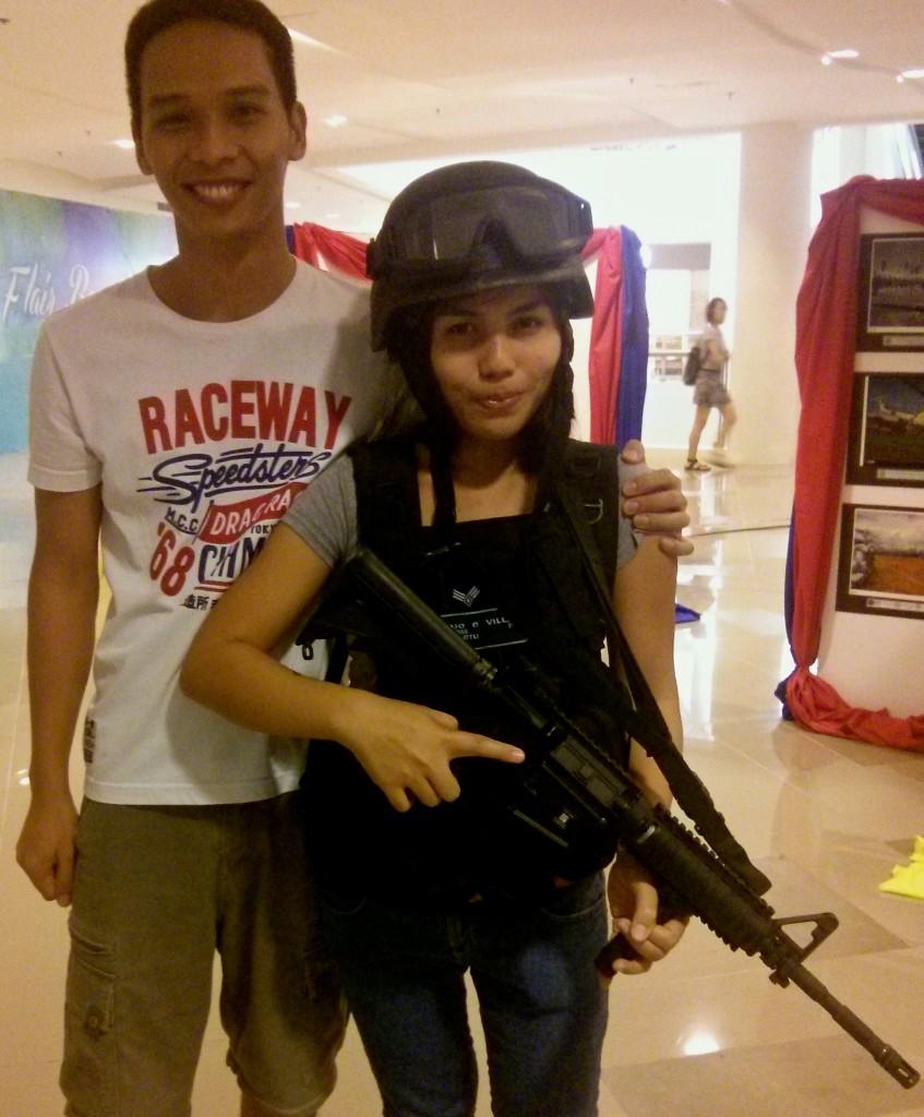 Navy Army's gun