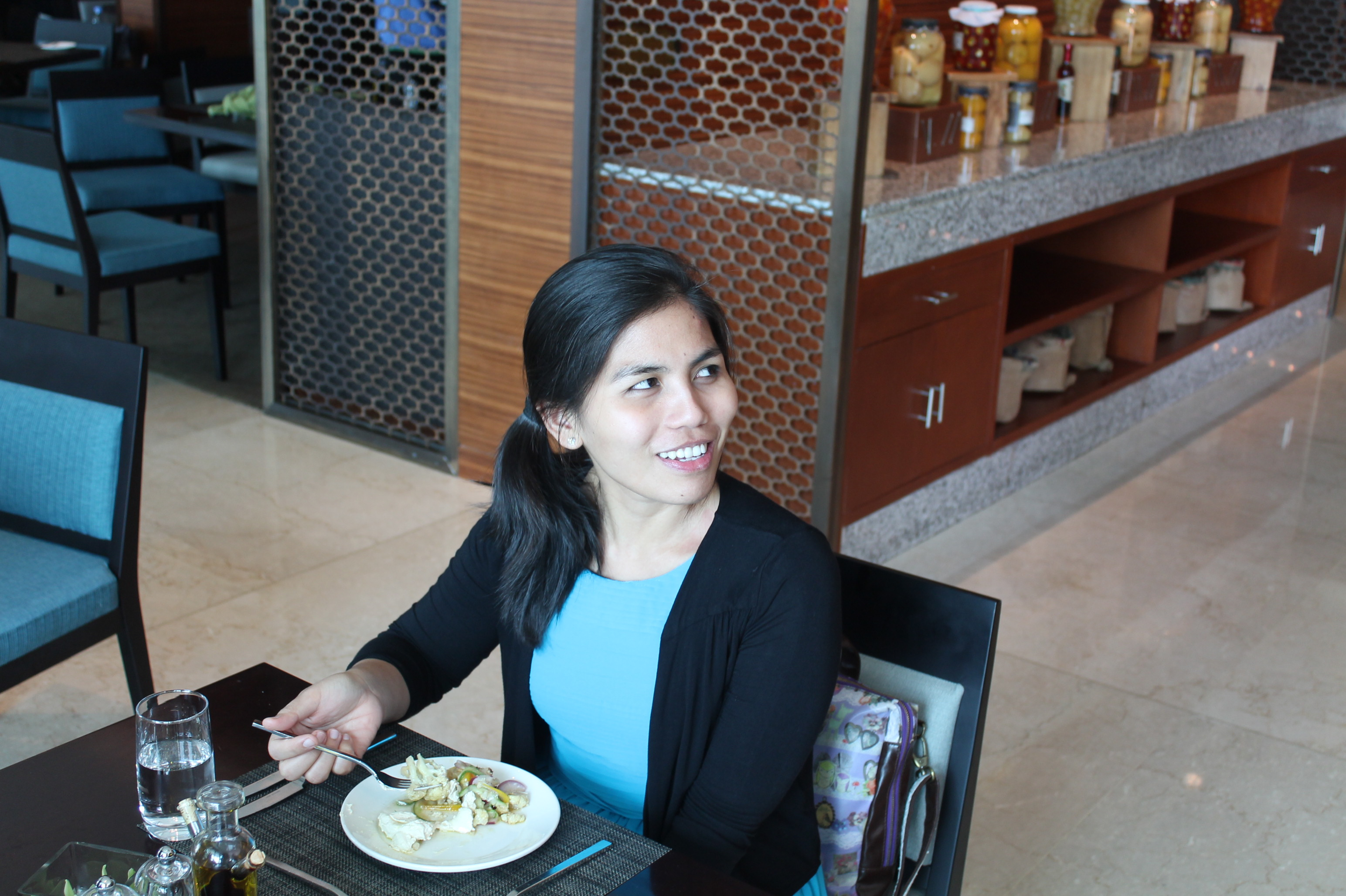 Foodie at Intercontinental Hotel