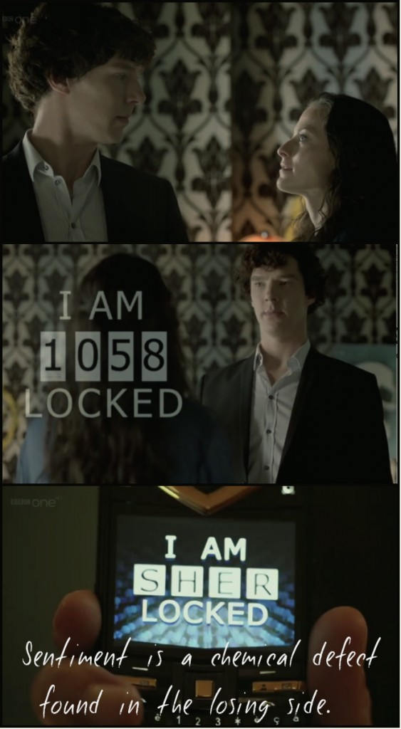 Code demystified by Sherlock