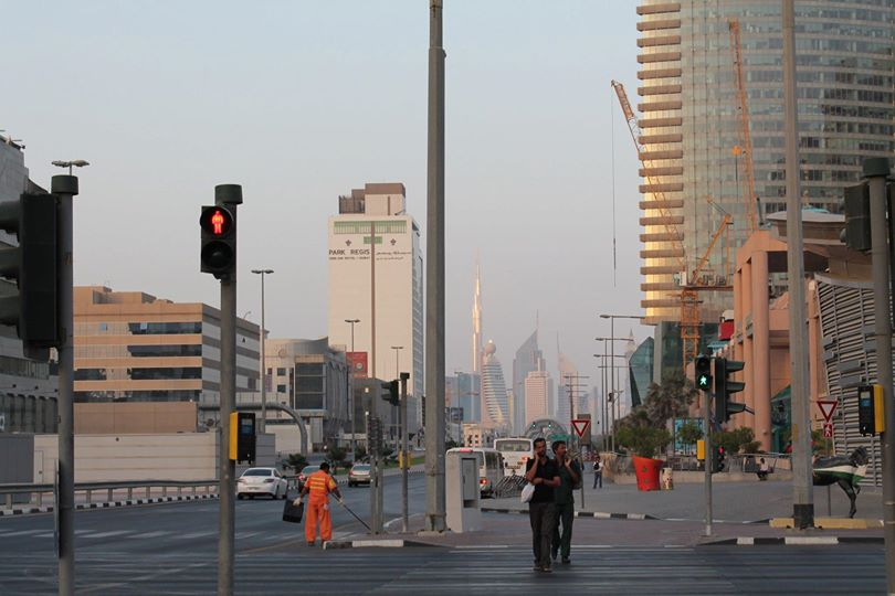 Pedestrians, Bur Dubai