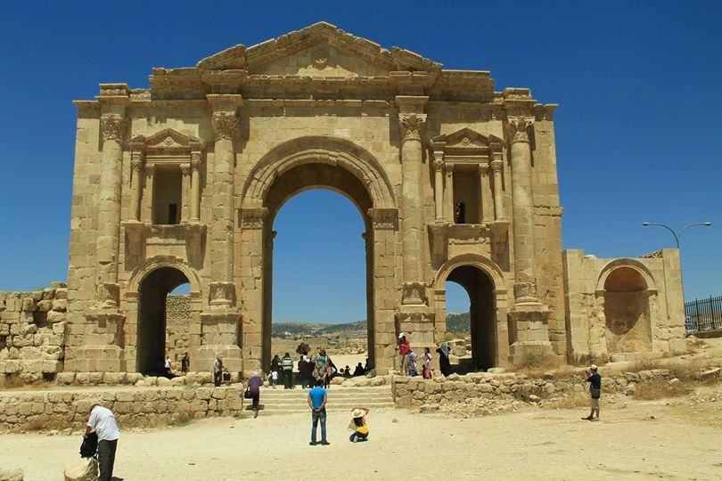 Entrance to Jerash