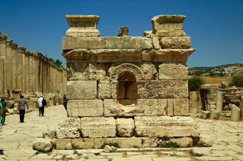 Restored Ruins of Jerash