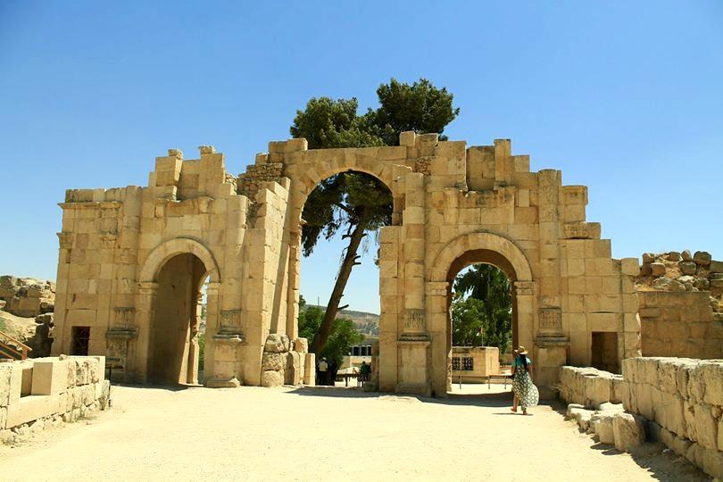 Entrance to Gerasa, Jordan