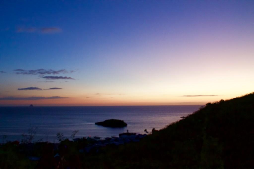 sunset in Carnaza