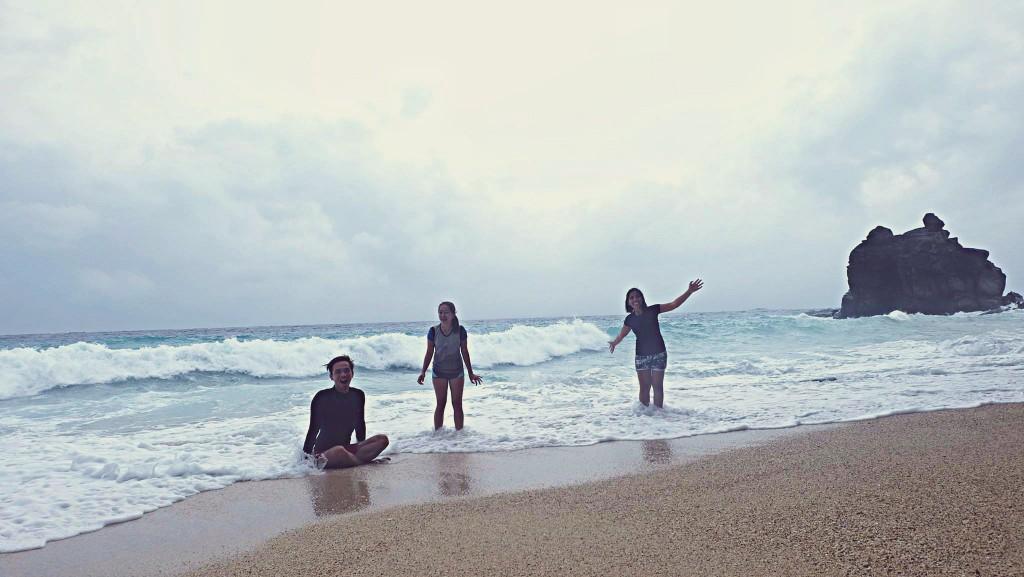 Hello from Apo Island