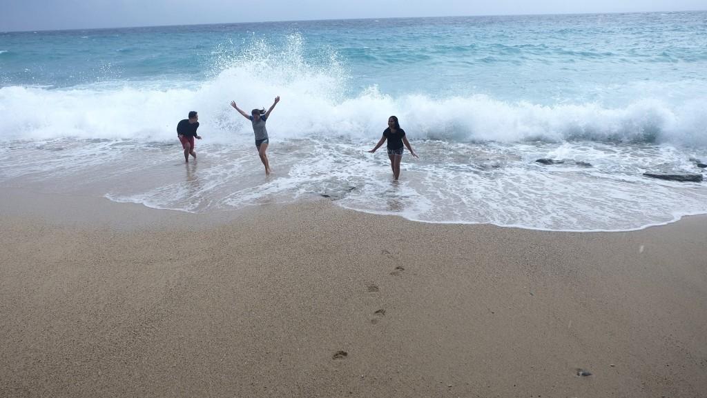 Splashes from Apo Island