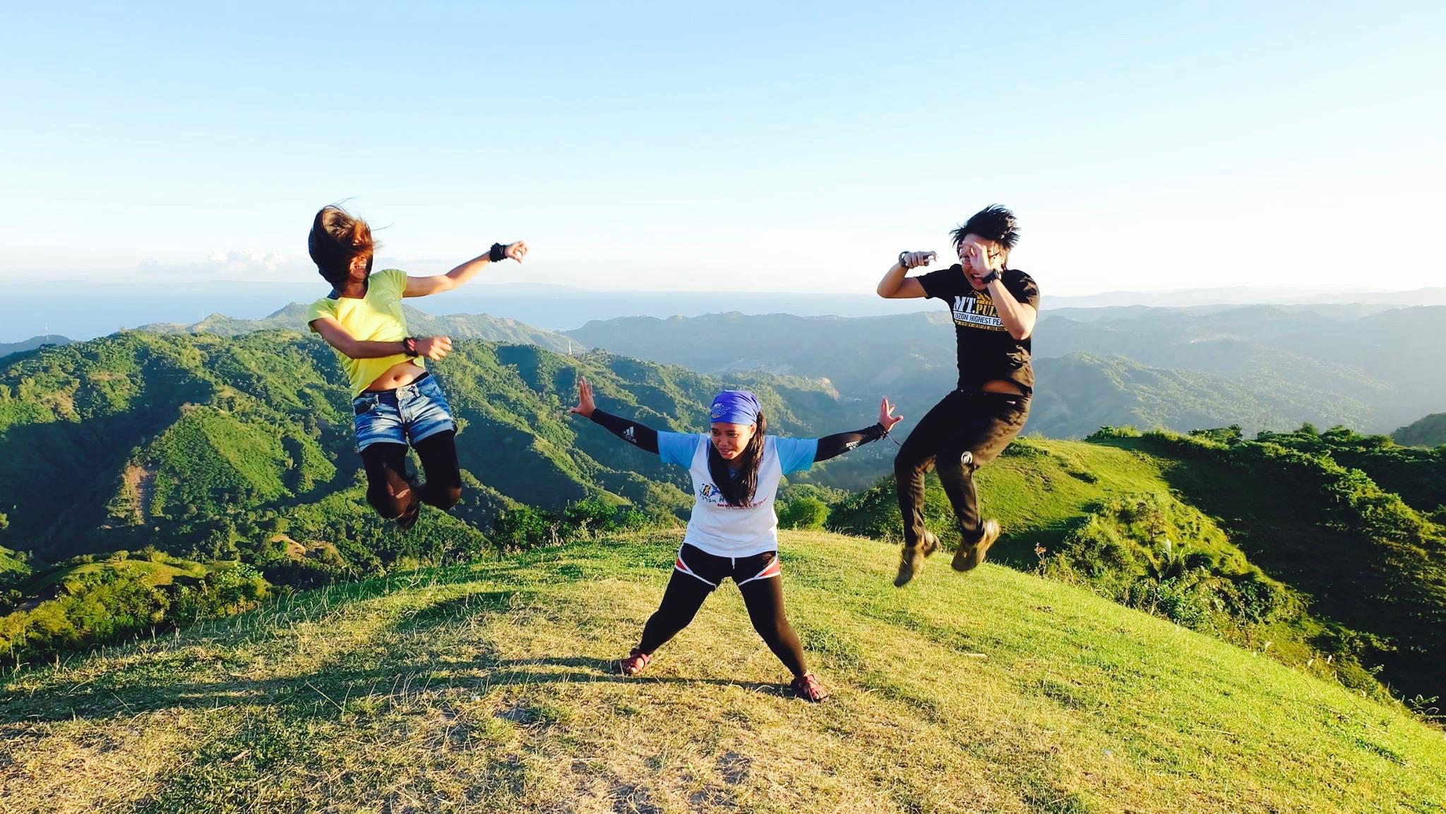 ninja in Mt Naupa