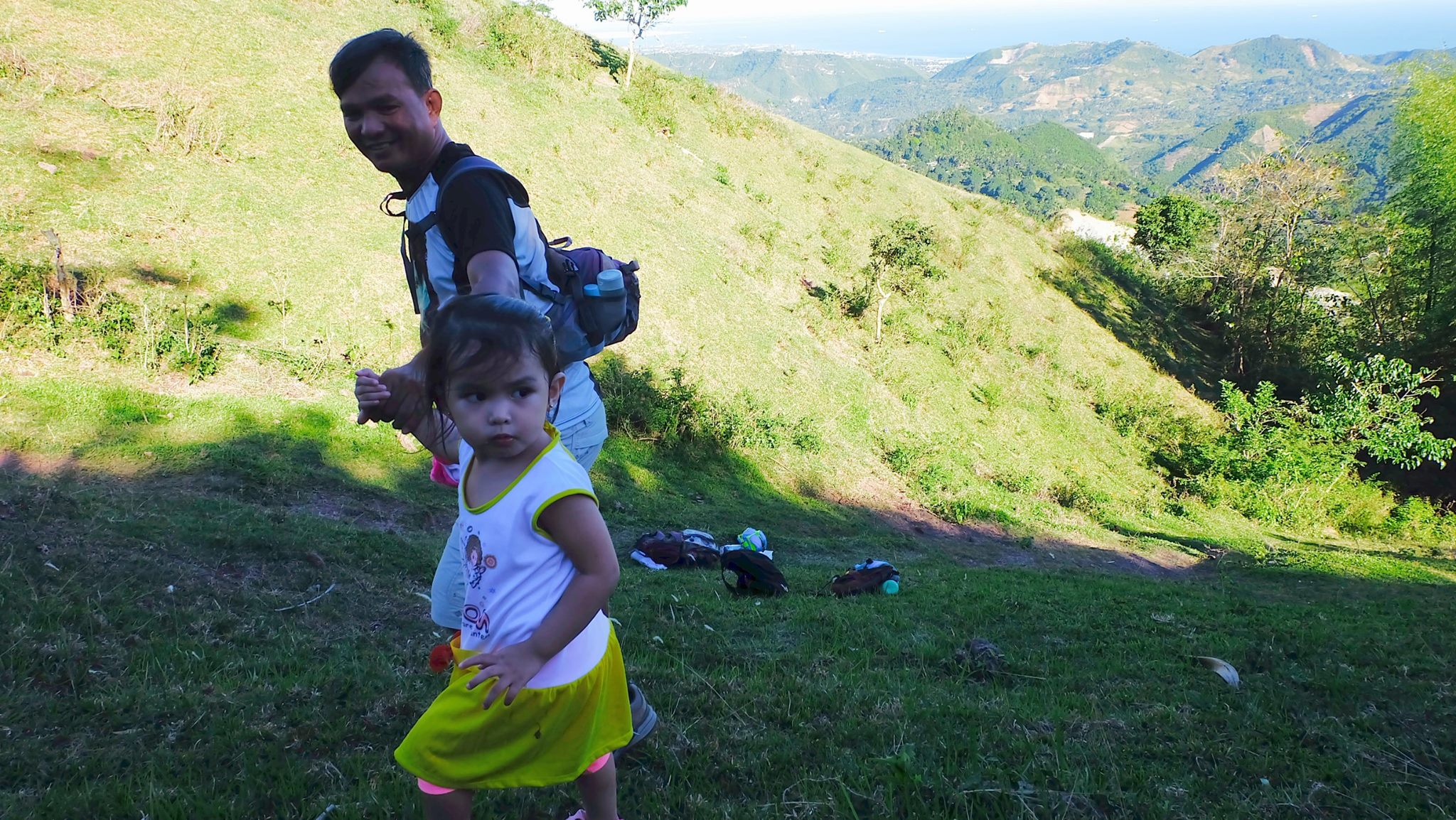 youngest Mt. Naupa hiker