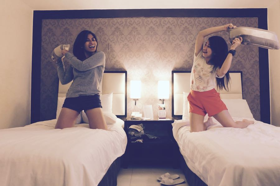 Quest-hotel-cebu-pillow-fights