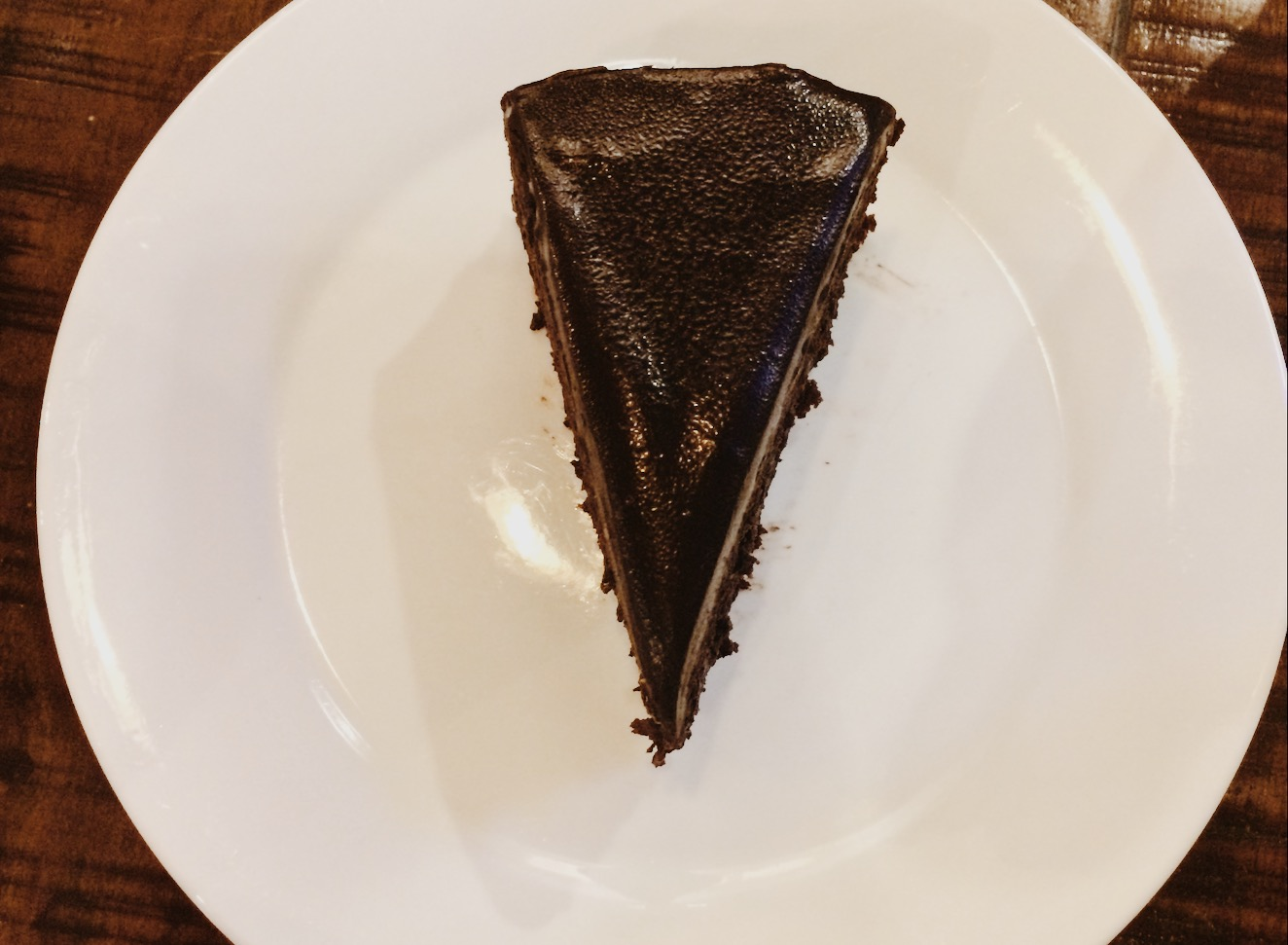 Chocolate Cake at Ma'an Coffee Factory
