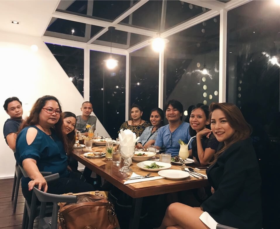 The Pyramid Cebu company dinner
