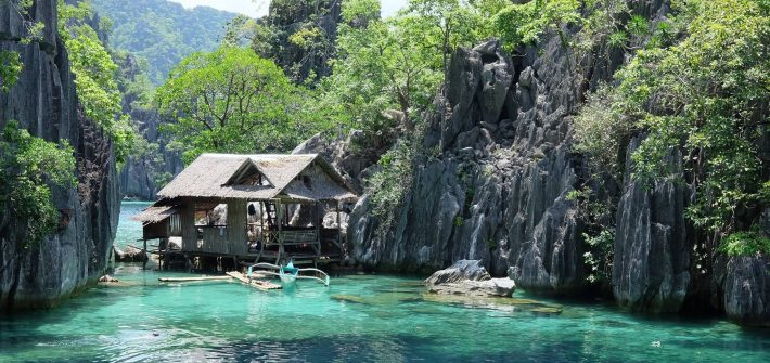 Where we stayed in Coron