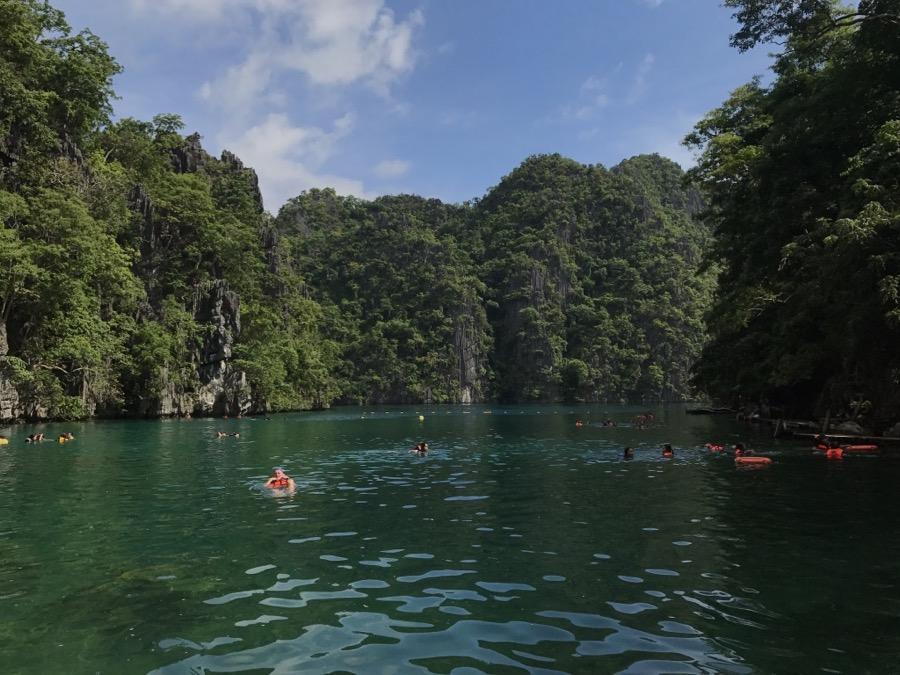 Kayangan Lake Coron September
