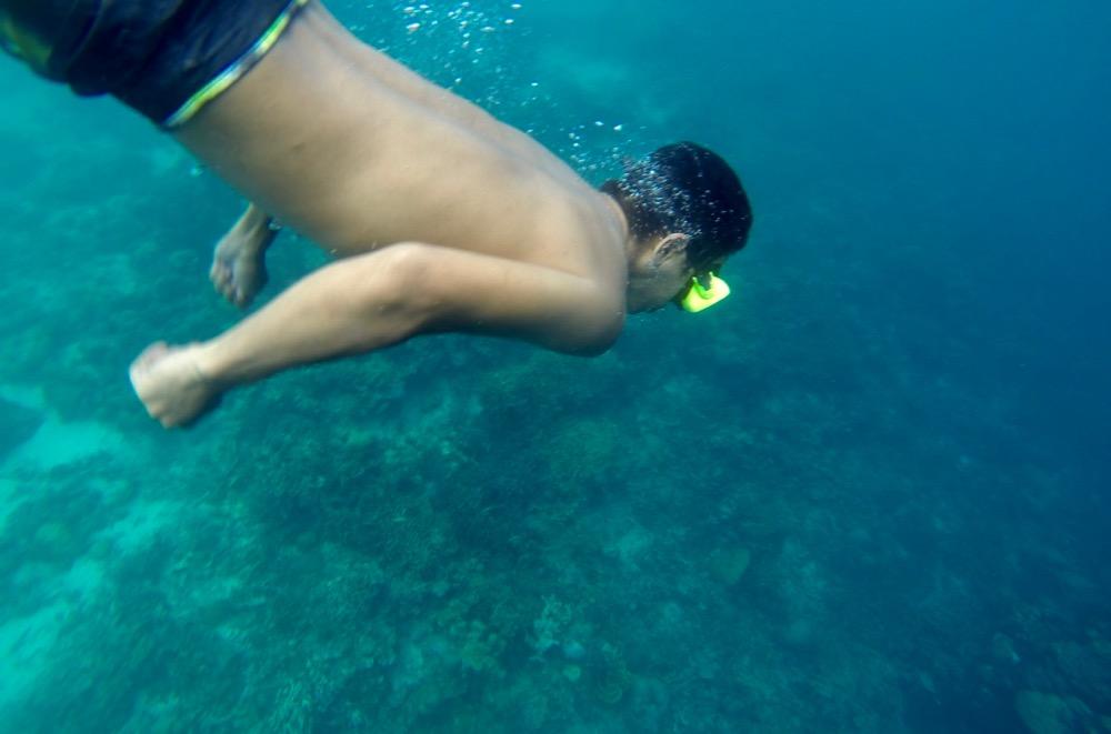 Skeleton Wreck Dive in Coron