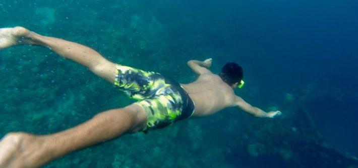 Underwater Coron Island