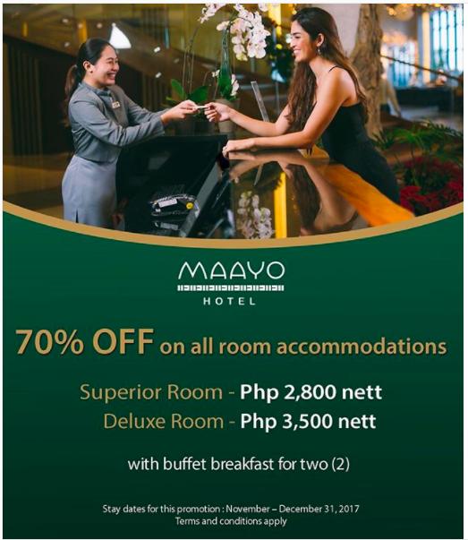 Maayo Hotel 70 percent off