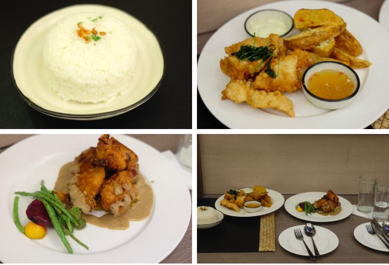 Meals at Maayo Hotel