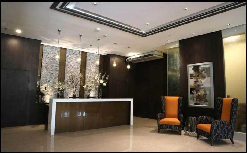 Lobby at West Avenue Suites Quezon City