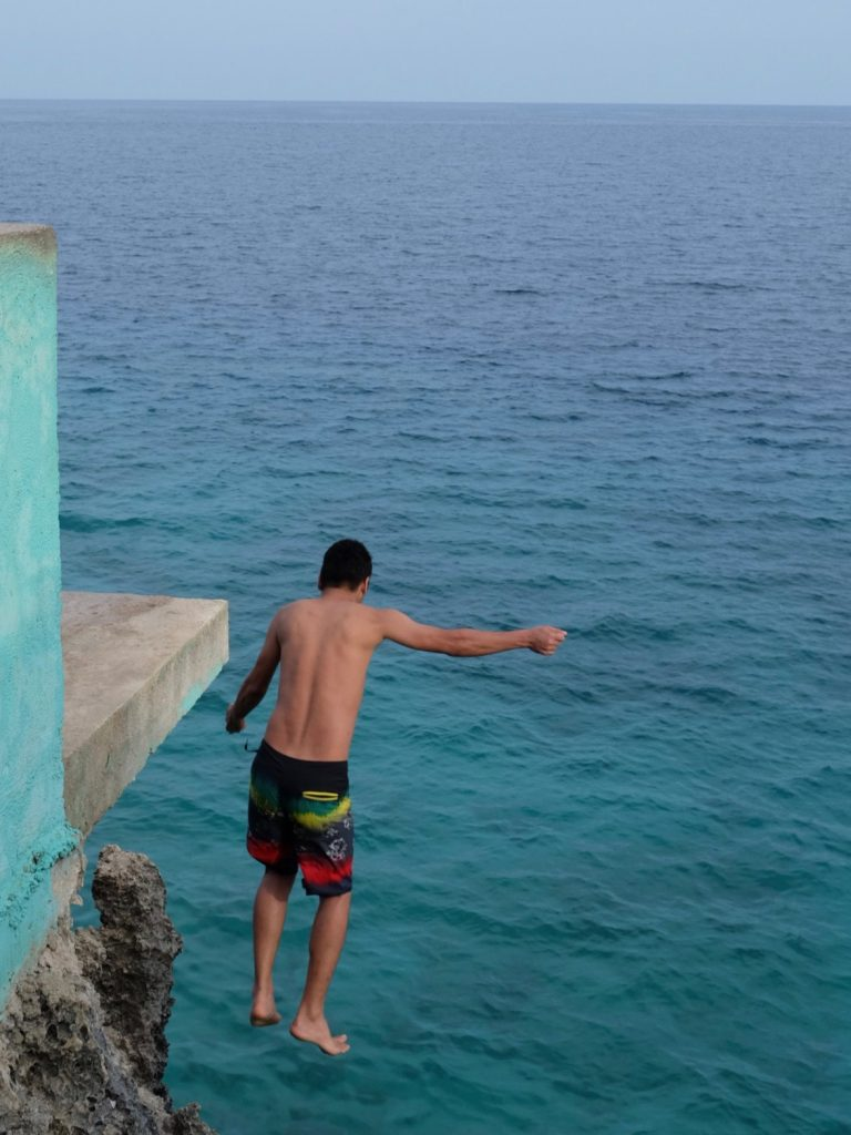 Salagdoong Beach Siquijor Cliff Jumping with Neil