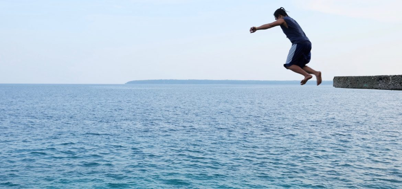 Salagdoong Beach Cliff Jumping