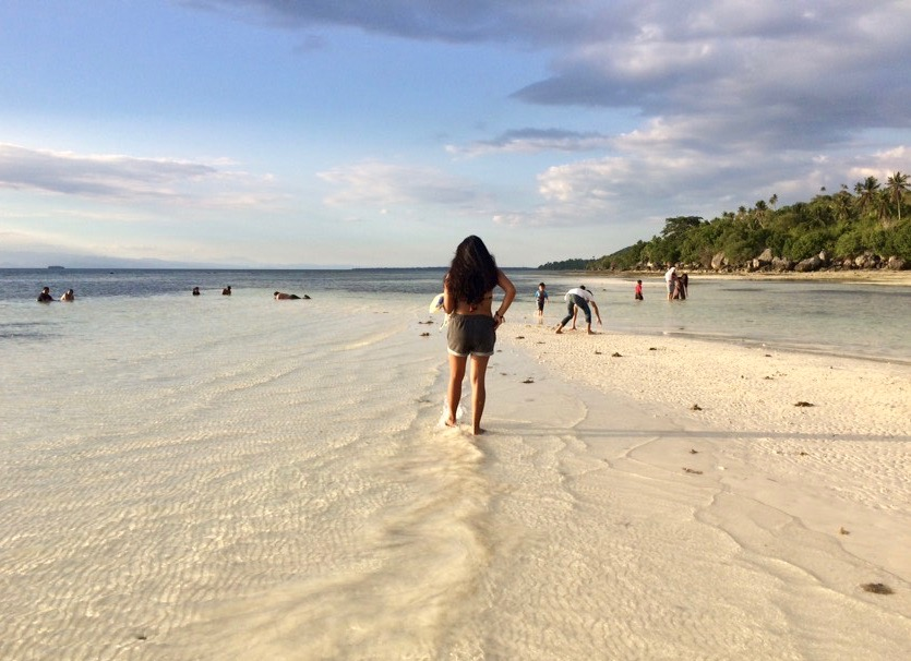 Sandbar at Lambug Beach, Badian