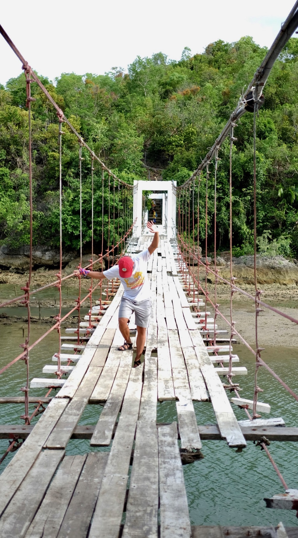 Hanging Bridge at Tabogon Cebu