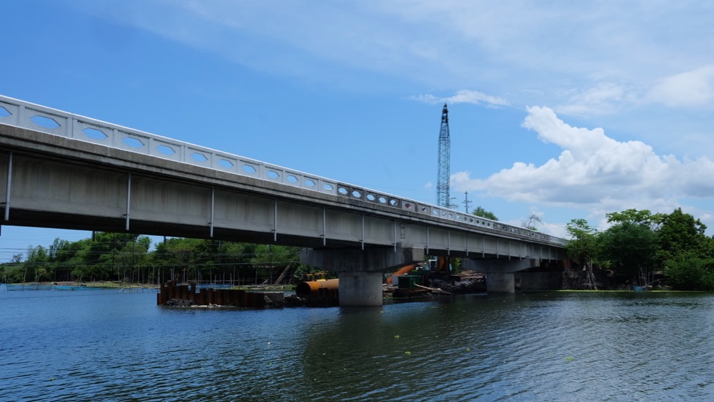 Baroro Bridge in Bacnotan La Union