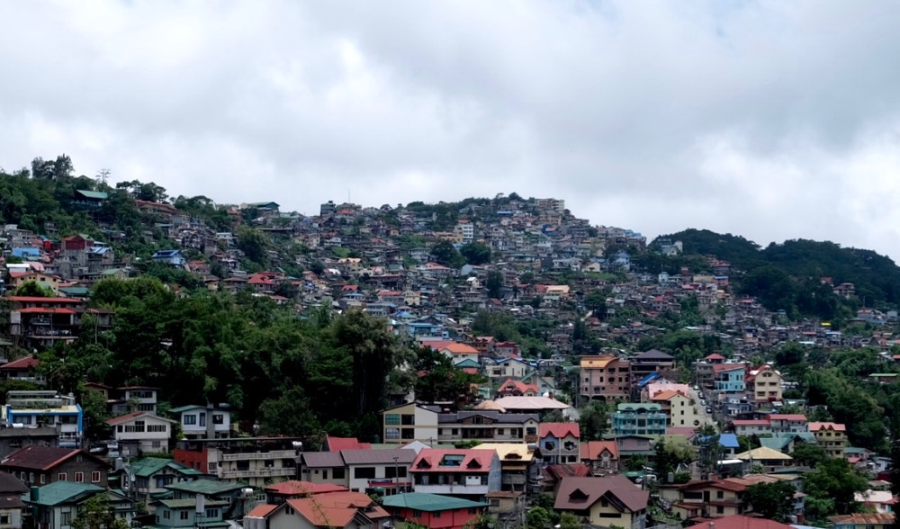 Populated Baguio