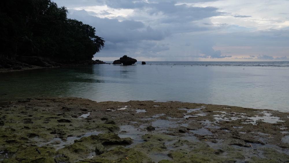 Guisi Beach Low tide